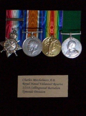 Charles's medals